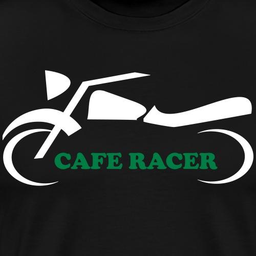 Cafe Racer Motorrad Biker Moped Mofa Geschenk - Männer Premium T-Shirt