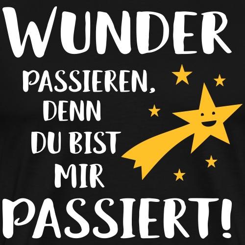 Liebe Partner Geschenk Romantisch Verliebt Spruch - Männer Premium T-Shirt