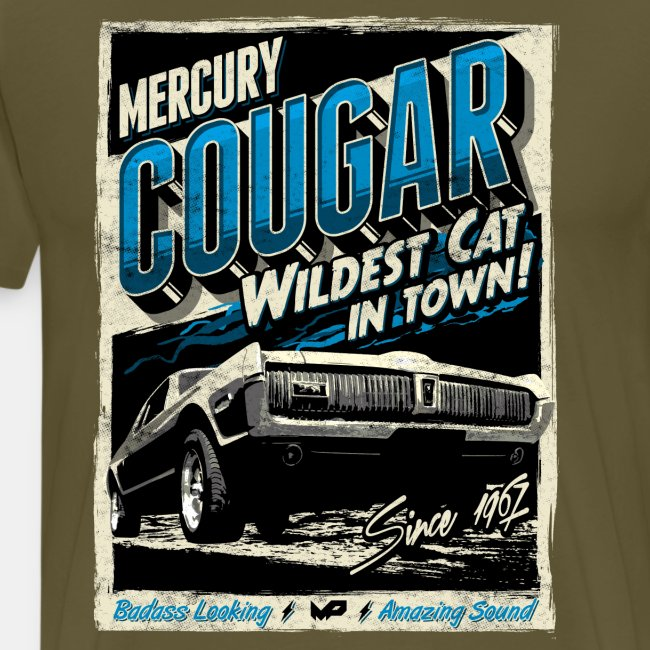 Mercury Cougar 1968 blau