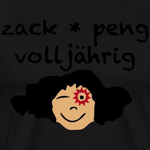 zack peng volljährig - Männer Premium T-Shirt