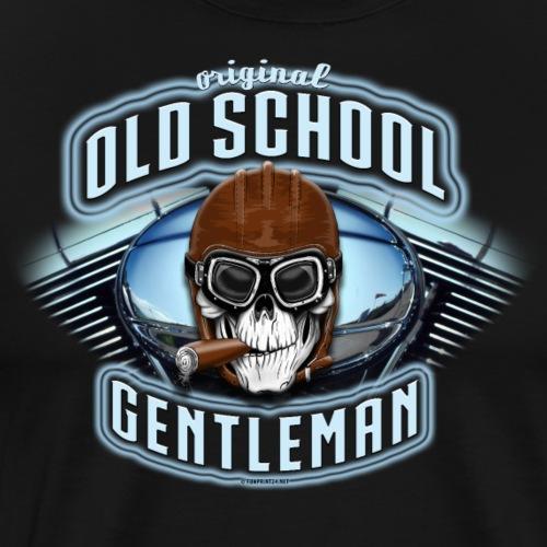 11A-09 OLD SCHOOL GENTLEMAN Textiles and gifts - Miesten premium t-paita