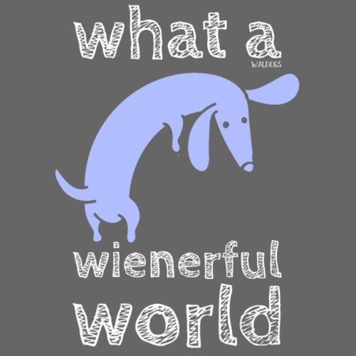 What a Wienerful - Miesten premium t-paita