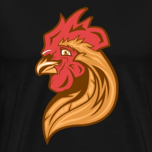 Cool Chicken - Miesten premium t-paita