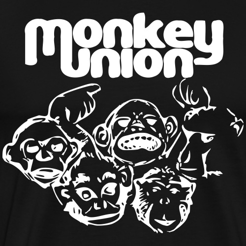 Union of the Monkey White - Men's Premium T-Shirt