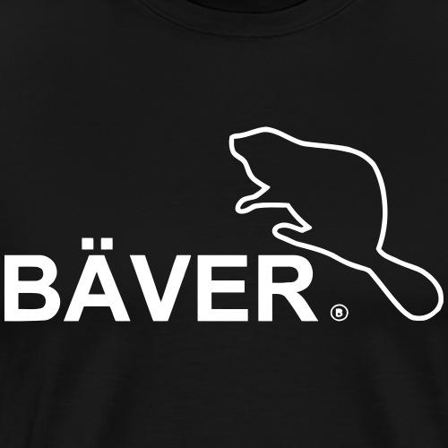 Bäver - Premium-T-shirt herr