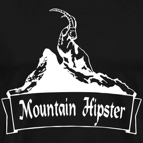 Mountainhipster - Männer Premium T-Shirt