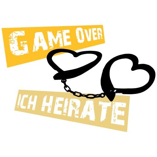 game over ich heirate - Männer Premium T-Shirt