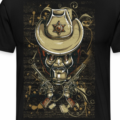 The Sheriff - Männer Premium T-Shirt