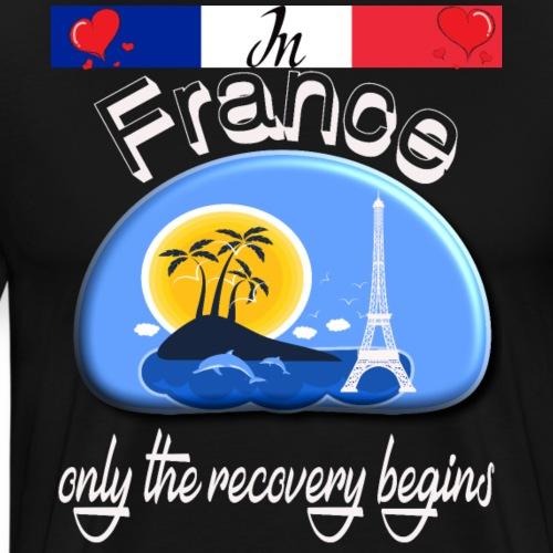 Urlaub, Frankreich, Ferien in, französisch lernen - Männer Premium T-Shirt