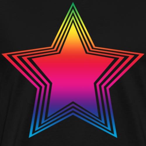 rainbow_star - Men's Premium T-Shirt