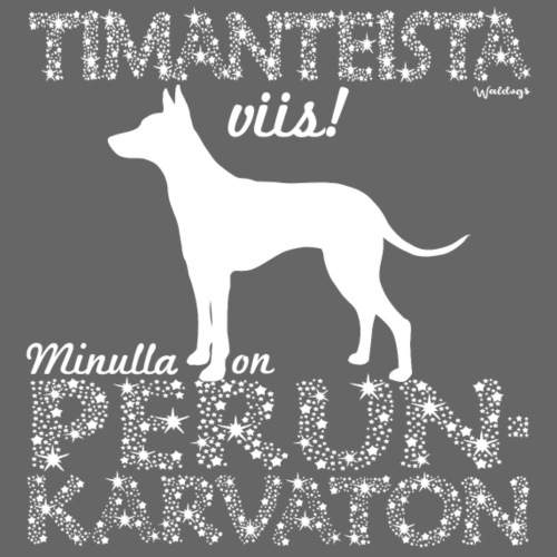Perunkarvaton Timantti - Miesten premium t-paita