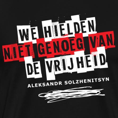 Solzhenitsyn en vrijheid - T-shirt Premium Homme