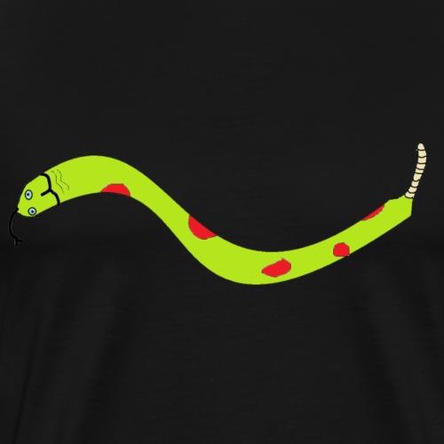 3000x2000 snake png - Men's Premium T-Shirt