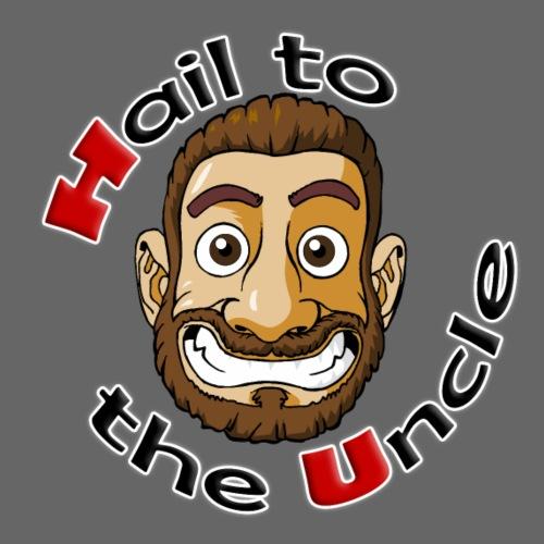 HAIL TO THE UNCLE LOGO - Men's Premium T-Shirt