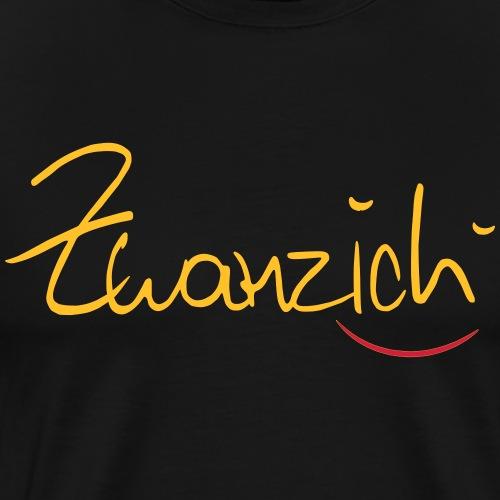 Zwanzig - Männer Premium T-Shirt