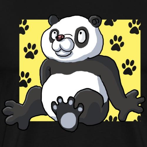 Panda assis - T-shirt Premium Homme