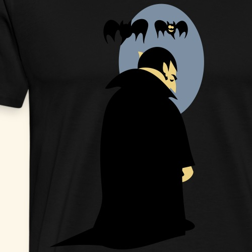 Vampir T-Shirt Kein Spiegelbild - Männer Premium T-Shirt
