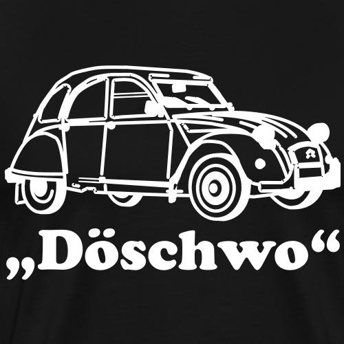 Döschwo mit Ente - Männer Premium T-Shirt