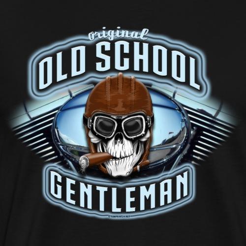 OLD SCHOOL GENTLEMAN Textiles and gifts - Miesten premium t-paita