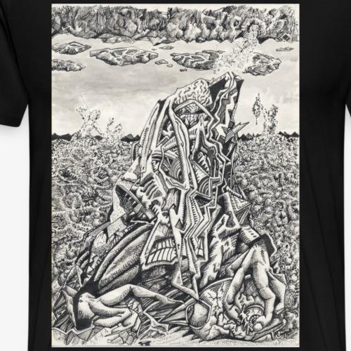 Intimidation by Brian benson - Men's Premium T-Shirt