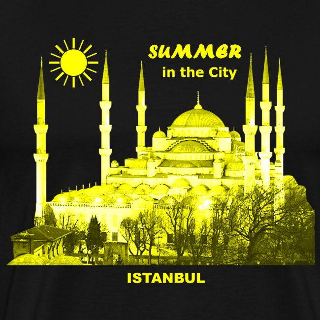 Istanbul Summer City Urlaub Türkei