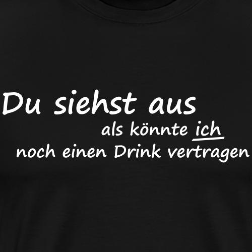 lustiger Spruch saufen Promille alkohol witzig - Männer Premium T-Shirt