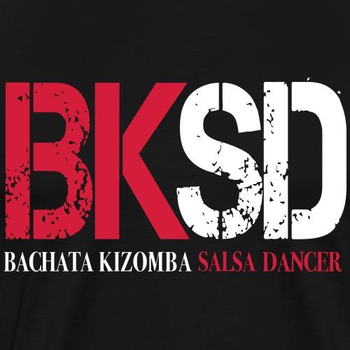 BKSD Bachata Kizomba Salsa Dancer - Dance Shirt - Männer Premium T-Shirt