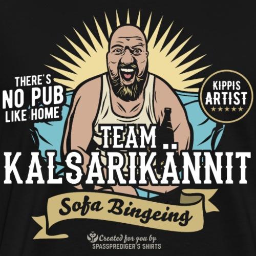 Kalsarikännit Kippis Artist - Männer Premium T-Shirt