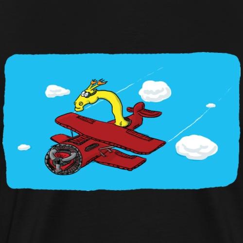 La girafe pilote - T-shirt Premium Homme