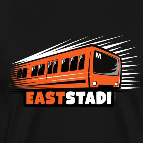 ITÄ-HELSINKI East Stadi Metro T-shirts, Clothes - Miesten premium t-paita