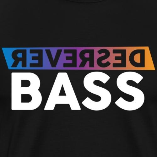 Reversed bass - Mannen Premium T-shirt