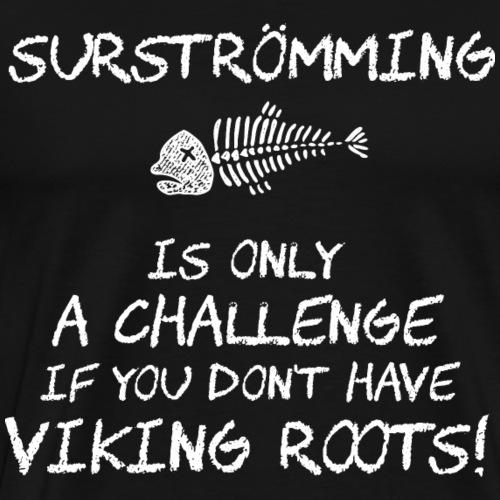 Surströmming T-Shirt Premiere - Männer Premium T-Shirt