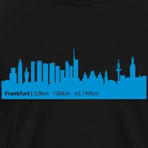 Frankfurt Ironman - Frankfurt Triathlon - Männer Premium T-Shirt