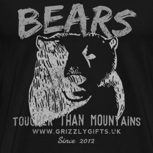 Mountain Bear Light tank - Men's Premium T-Shirt