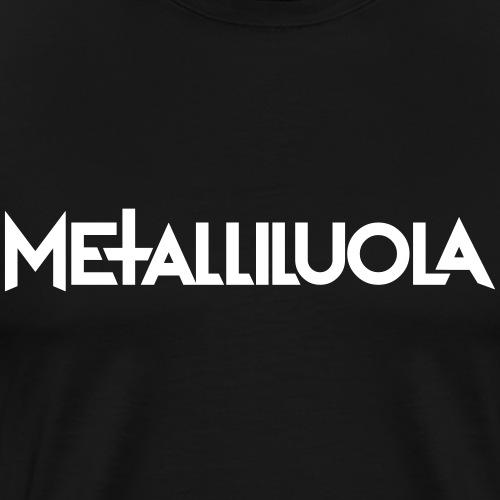Metalliluola logo - Miesten premium t-paita