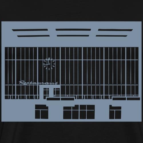 Sala partenze Tempelhof - Maglietta Premium da uomo