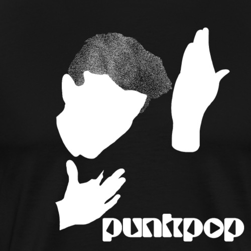 Heroes Punkpop - Maglietta Premium da uomo