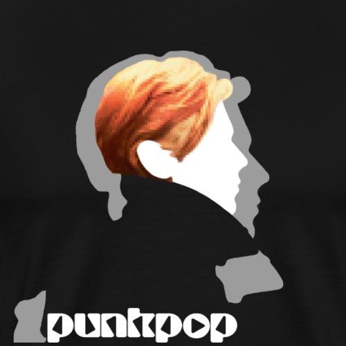 Low Punkpop White - Maglietta Premium da uomo