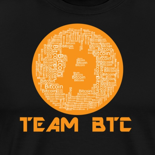 TEAM Bitcoin BTC - Männer Premium T-Shirt