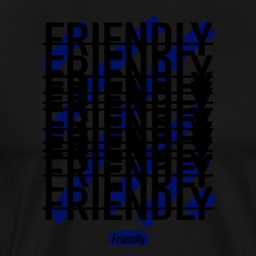 FRIENDLY SQUARE LOGO - Men's Premium T-Shirt