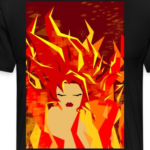 Pyro - Maglietta Premium da uomo