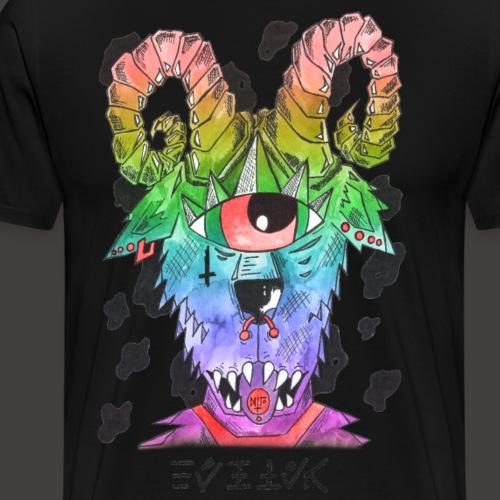 Belier multi-color - T-shirt Premium Homme