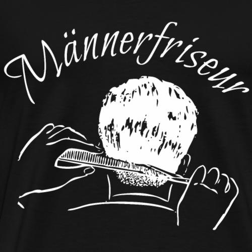 Männerfriseur Barbier Friseur Shirt Geschenk - Männer Premium T-Shirt