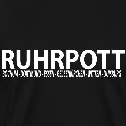 Ruhrpott - Das Revier - Männer Premium T-Shirt