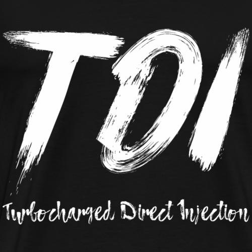 TDI Turbocharged Direct Injektion Shirt Geschenk - Männer Premium T-Shirt