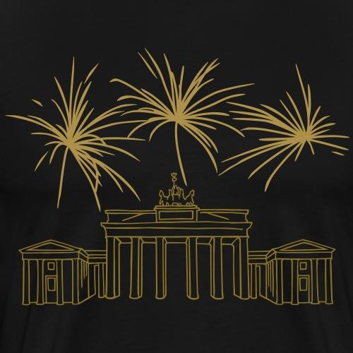 Porta di Brandeburgo a Berlino - Maglietta Premium da uomo