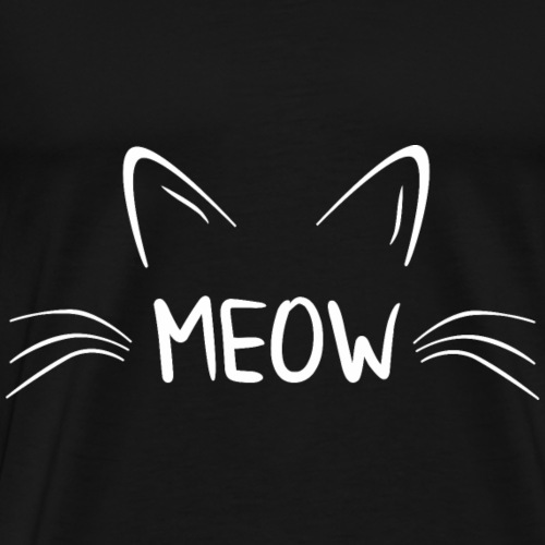 Katze Katzen Liebhaber Besitzer Shirt Geschenk - Männer Premium T-Shirt