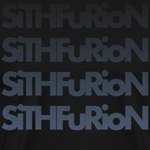 SiThFuRioN Faded - Men's Premium T-Shirt