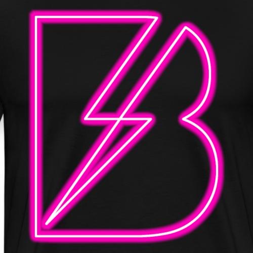 FBS Line Logo Pink - Men's Premium T-Shirt