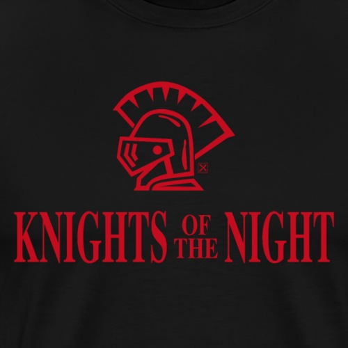 Knights of the night - Camiseta premium hombre